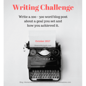 Writing Challenge - October 2017
