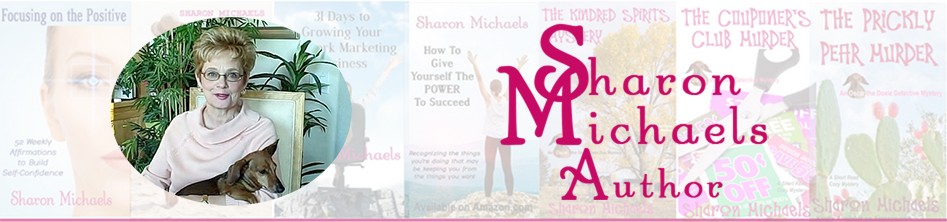 Sharon Michaels Author header image