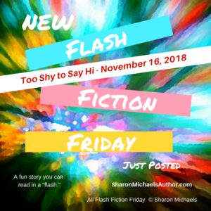 Flash Fiction Friday - November 2018