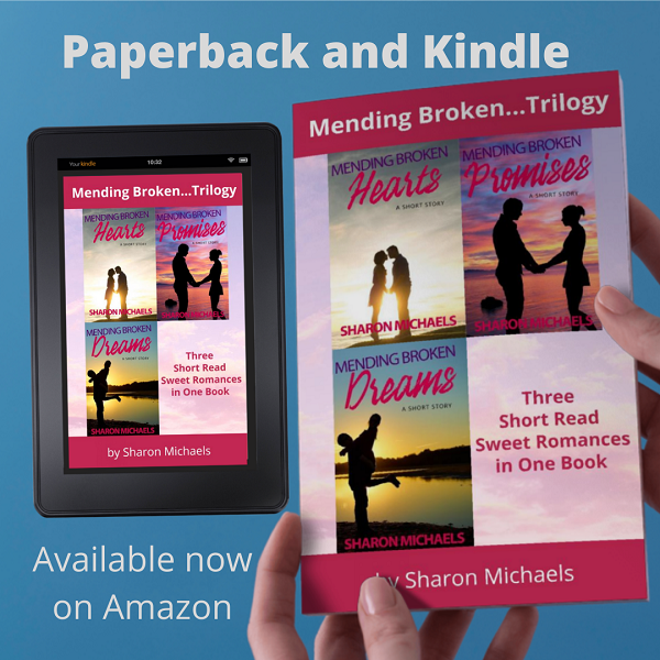 Mending Broken Trilogy...: Three Short Read Romances in One Book